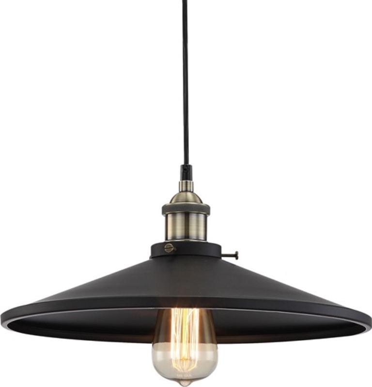 Pendul modern diametru 36cm, H-120cm Knud negru 15060 Globo Lighting
