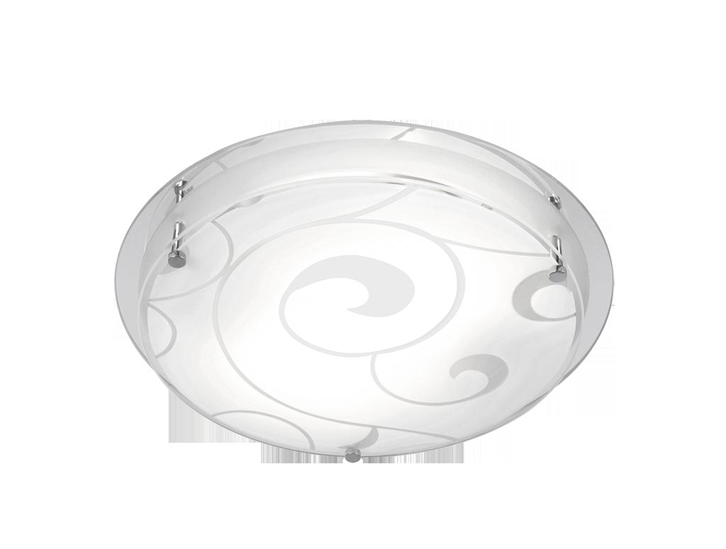 Plafonier modern diametru 32cm Krist Jana 48060-2 Globo Lighting