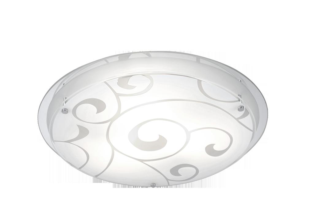 Plafonier modern diametru 42cm Krist Jana 48060-3 Globo Lighting