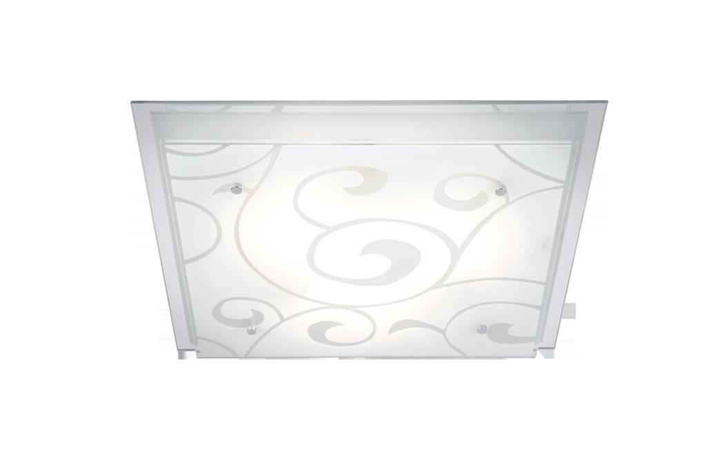 Plafonier modern 24cm x 24cm Dia 48062 Globo Lighting
