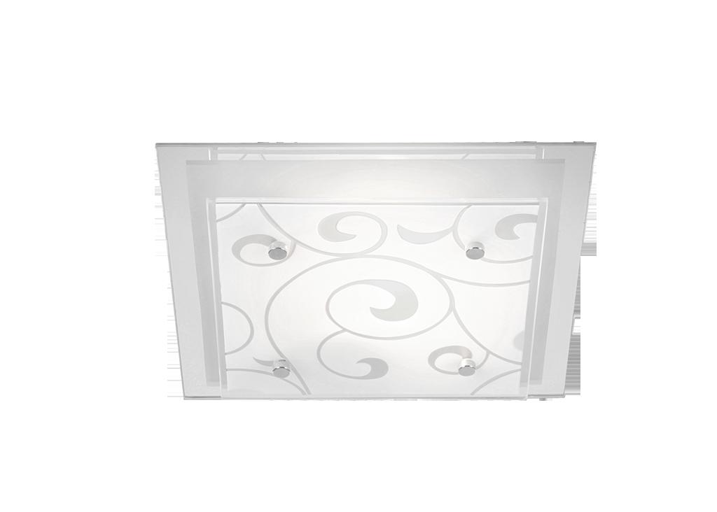 Plafonier modern 33,5cm x 33,5cm Dia 48062-2 Globo Lighting