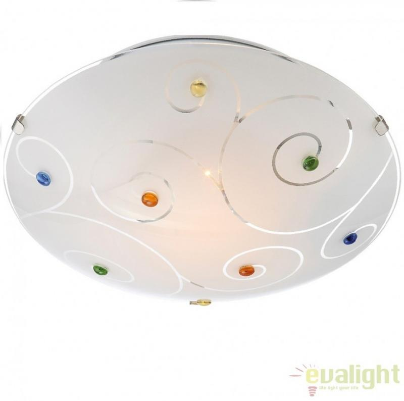 Plafoniera moderna diam. 25cm, FULVA 40983-1 Globo Lighting