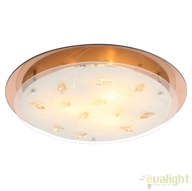 Plafoniera moderna eleganta, diam. 46cm, AYANA 40413-3 Globo Lighting