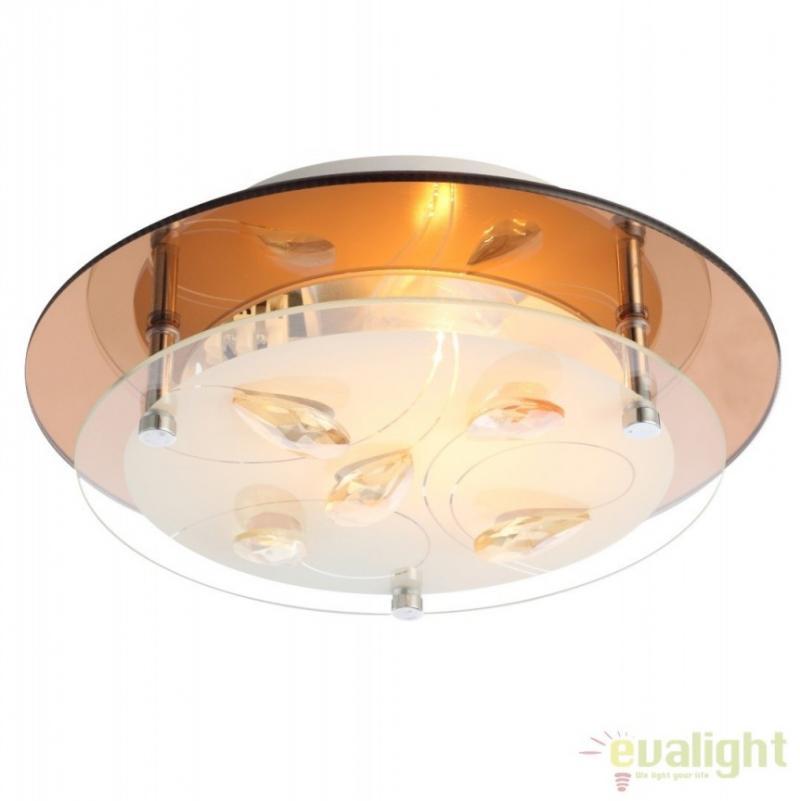 Plafoniera moderna eleganta, diam. 25cm, AYANA 40413 Globo Lighting