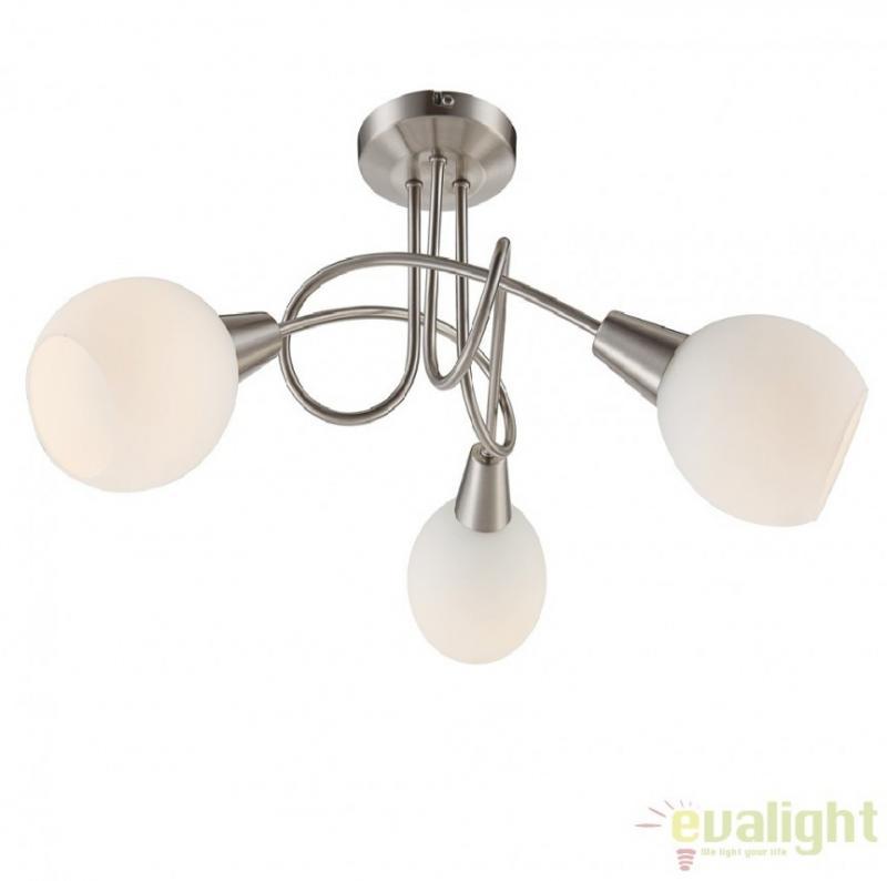 Plafoniera moderna cu iluminat LED, diam. 40,5cm, ELLIOTT 54351-3 Globo Lighting