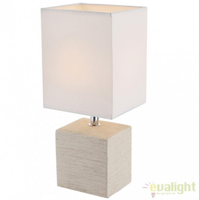 Veioza / Lampa de masa cu design modern, Geri 21675 Globo Lighting