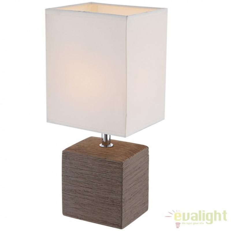 Veioza / Lampa de masa cu design modern, Geri 21677 Globo Lighting