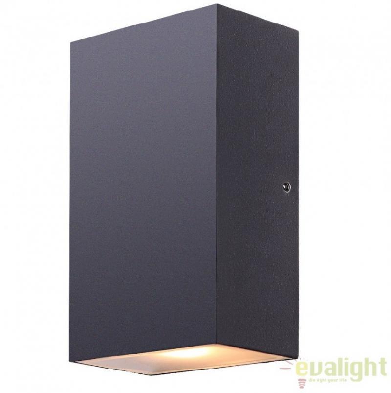 Aplica de perete de exterior moderna cu iluminat LED, IP44, Evalia 34153 Globo Lighting
