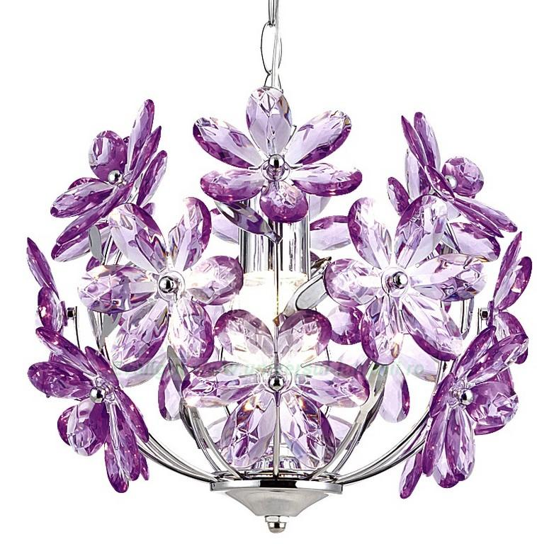 Pendul diametru 32cm Purple 5143 Globo Lighting