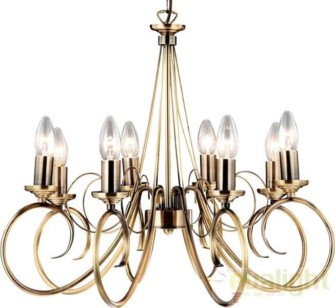 Candelabru 8 brate Truncatus 69003-8 Globo Lighting