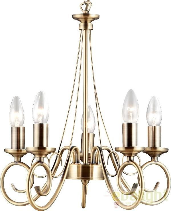 Candelabru 5 brate Truncatus 69003-5 Globo Lighting