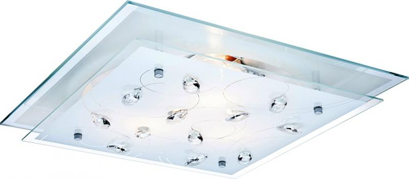 Aplica, Plafonier cu cristale Jasmina 40408-3 Globo Lighting