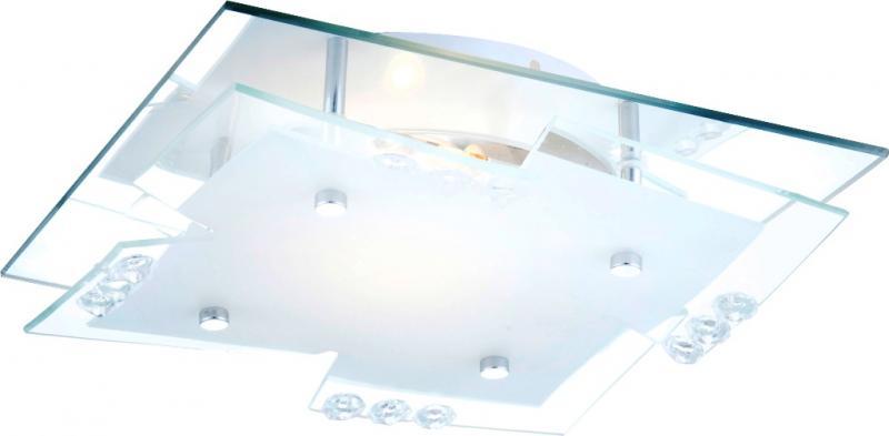 Aplica cu cristale acrylice 24x24cm Dubia 48074 Globo Lighting