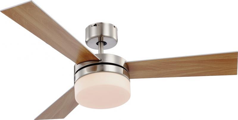 Lustra Ventilator telecomanda, palete ventilatie in doua culori, Alana 0333