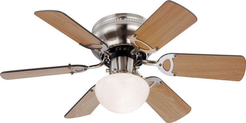 Lustra Ventilator cu palete ventilatie in doua culori Ugo 0307