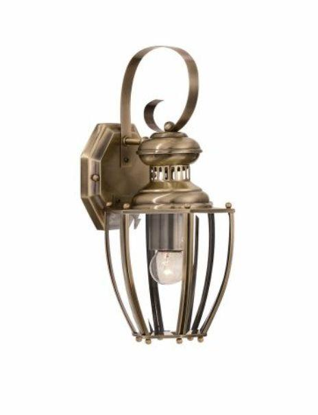 Aplica brass antique NORMA AP1 Ideal Lux, corpuri de iluminat, lustre